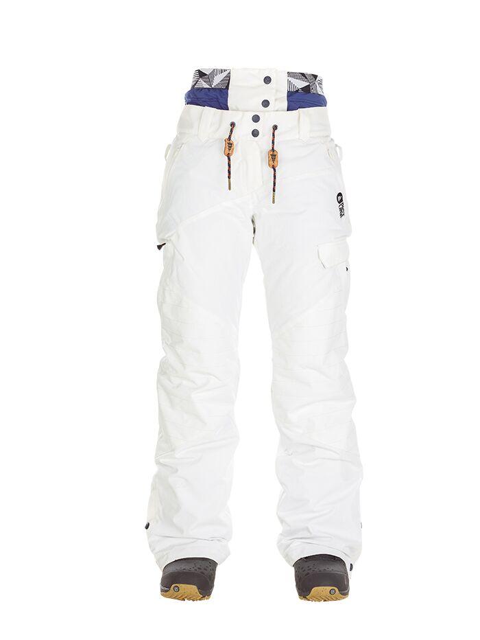 Купить Брюки сноубордические Picture Organic 2017-18 TREVA PANT G White Одежда сноубордическая 1354703