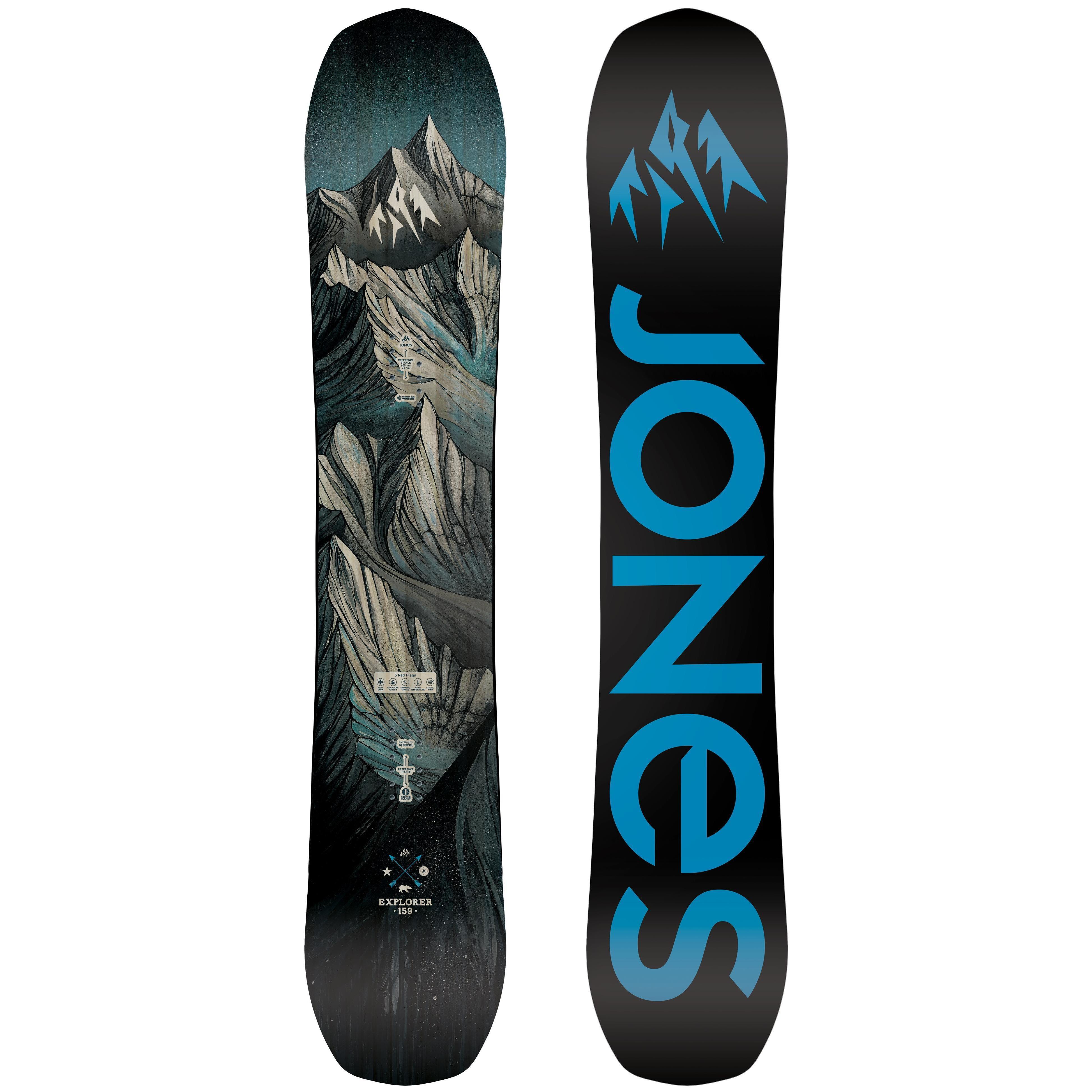 92781be45f1b Сноуборд Jones Explorer 2018-19 - купить недорого, цены в магазине КАНТ
