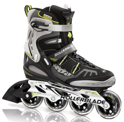 Роликовые коньки Rollerblade 2012 SPARK 84 black/acid green