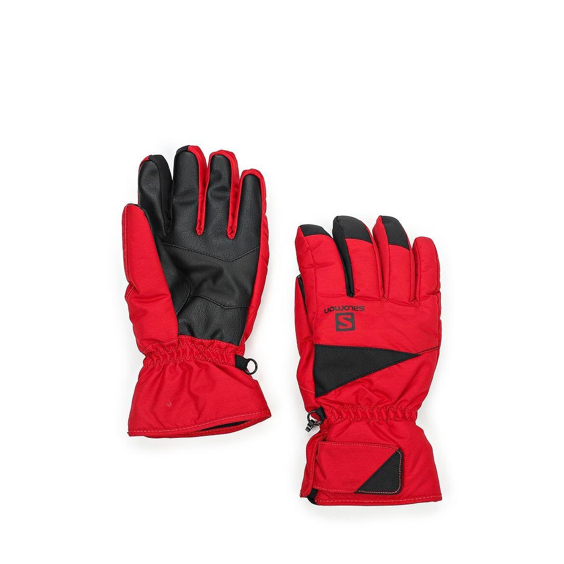 мужские перчатки salomon, черные