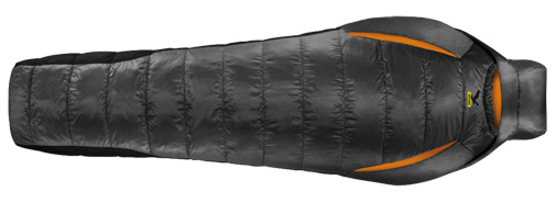 Спальник Salewa Trekking Ecoloft Spirit -9 XL right carbon black