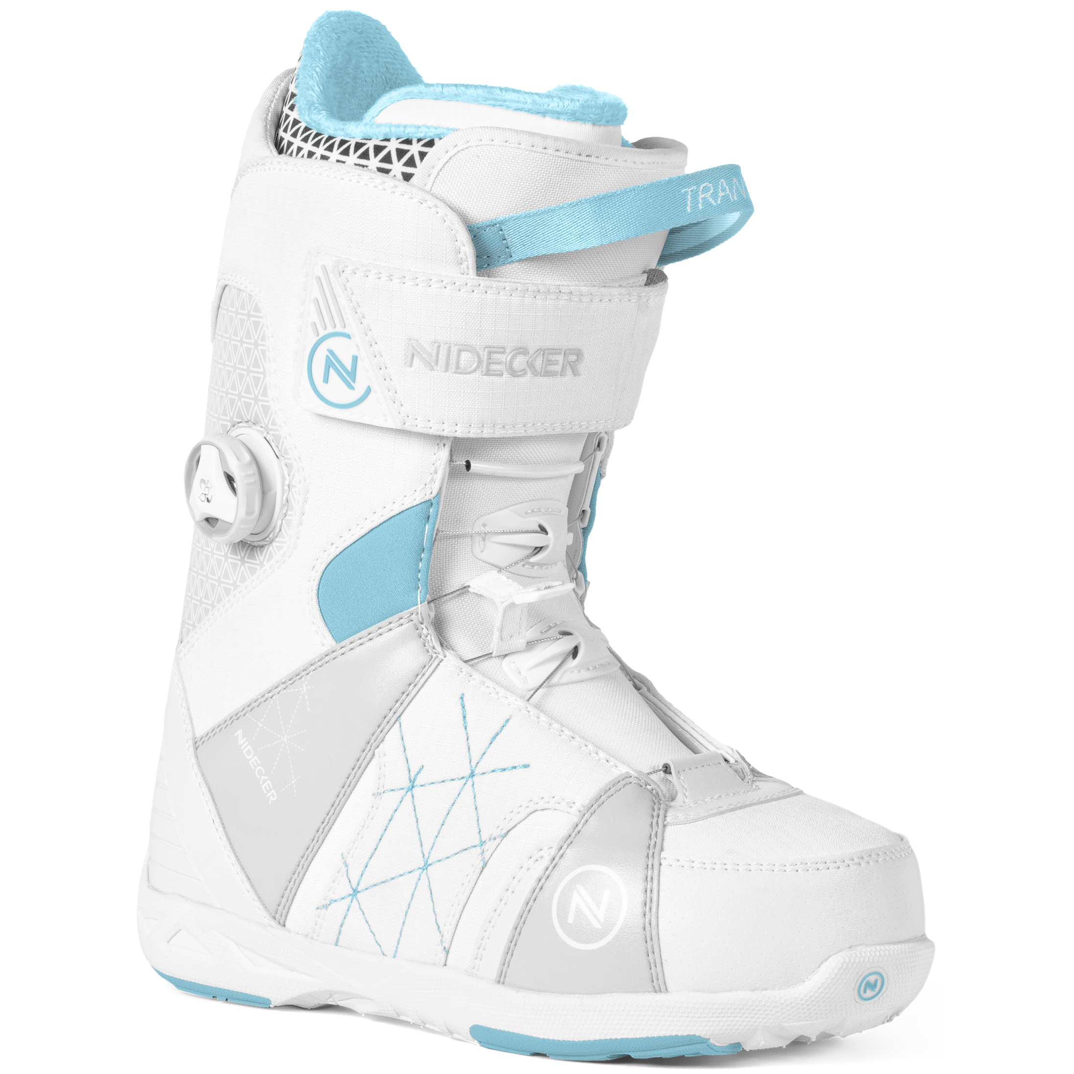 Ботинки для сноуборда NIDECKER 2017-18 TRANSIT W BOA WHITE - купить ... dd93283b488