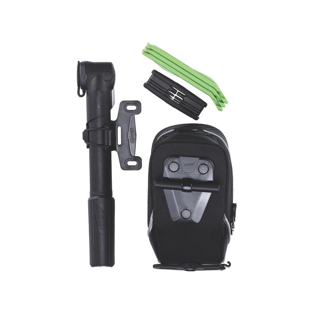 Дорожный Вело-Комплект Bbb Combipack M (Storepack M +Btl-42S+Btl-81 Green+Bmp-54+Btl-80) от КАНТ