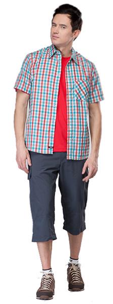 Купить Рубашка для активного отдыха MAIER 2012 LARRY PRINT зеленый/принт Одежда туристическая 787320