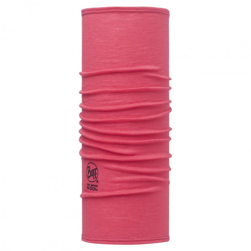 Купить Шарф BUFF Wool Plain SLIM FIT MERINO WOOL SOLID PINK HIBISCUS, Банданы и шарфы Buff ®, 1263406