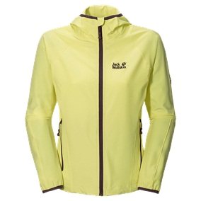 Куртка для активного отдыха Jack Wolfskin 2015 Turbulence Jacket Women lemonade