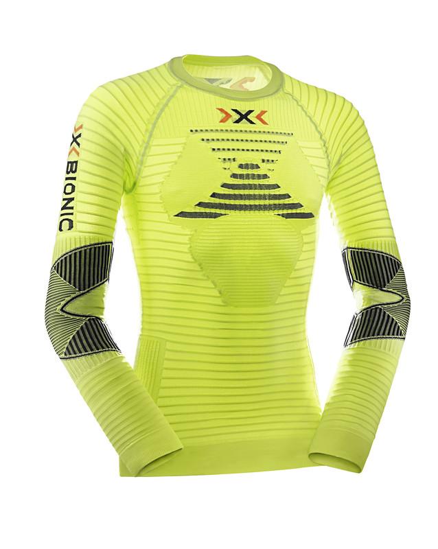 Футболка С Дл. Рукавом X-Bionic 2017 Running Ae Man Effektor Power Ow Shirt Lg Sl Зеленый