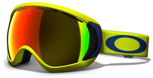 Очки горнолыжные Oakley CANOPY PASTEL YELLOW w/ FIRE IRIDIUM