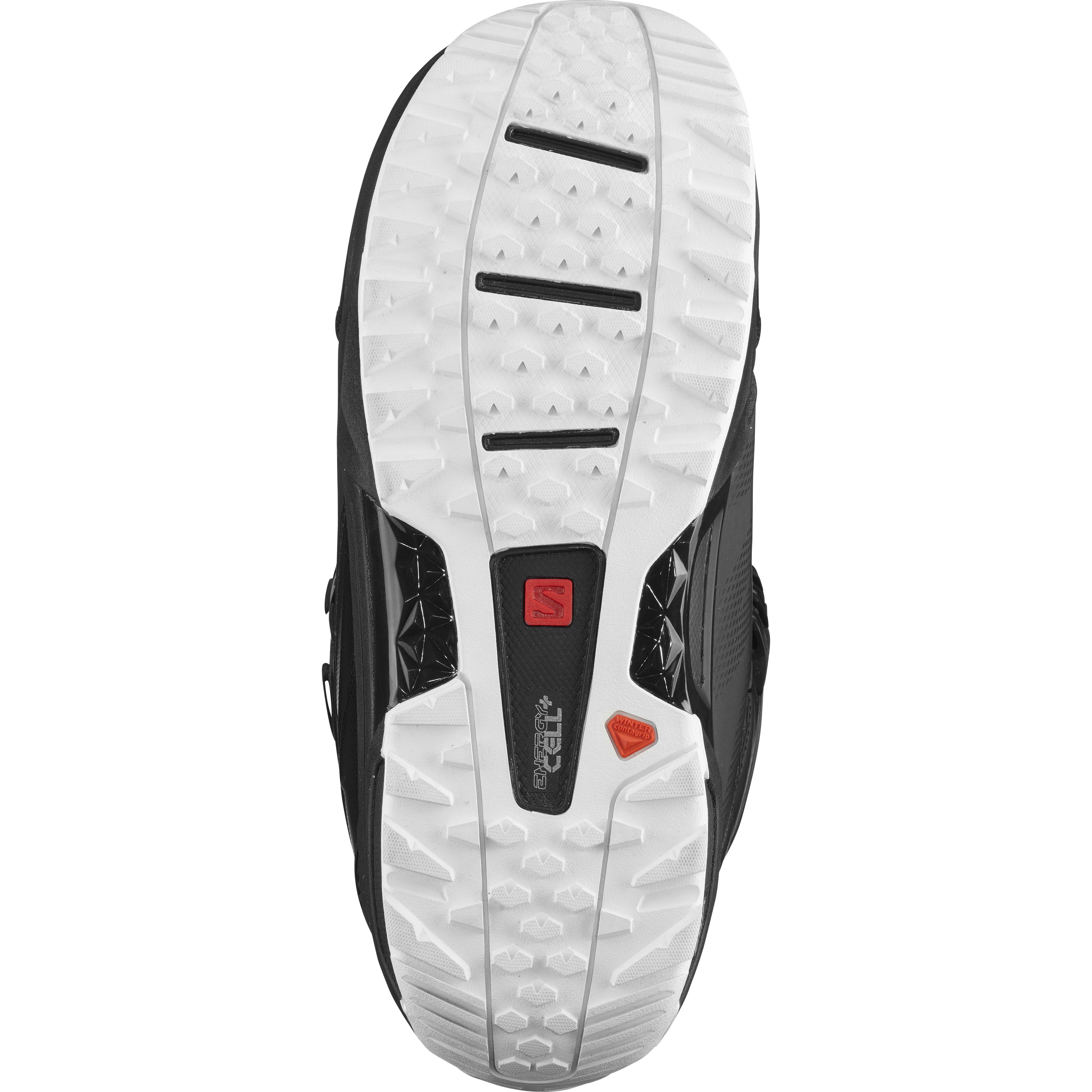 740fe9a0f9f0 Ботинки для сноуборда Salomon 2018-19 MALAMUTE Black - купить ...