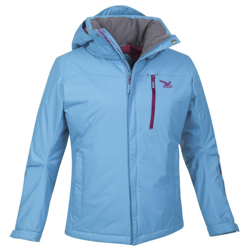 Купить Куртка туристическая Salewa MOUNTAINEERING ALPINDONNA ROA PTX/PF W JKT opale/0010, Одежда туристическая, 1108562