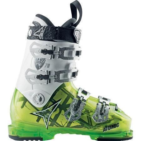 Купить Горнолыжные ботинки ATOMIC 2012-13 Hawx 70 white/GREEN Ботинки горнoлыжные 812925