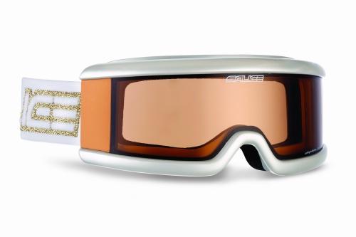 Купить Очки горнолыжные Salice 400DACRXPF Pearl White/CRXP Brown 1047257