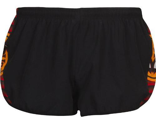 Купить Шорты беговые BUFF RUNNING SHORTS MERCURY (BLACK) черный Одежда для бега и фитнеса 759145