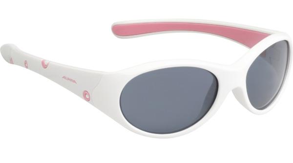 Очки солнцезащитные Alpina JUNIOR / KIDS Flexxy Girl white-rose/black S3 1131870  - купить со скидкой