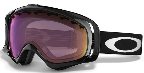 Очки горнолыжные Oakley Crowbar snow jet black g30