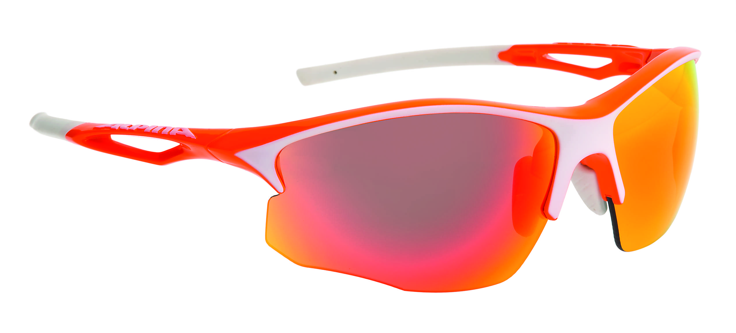 Очки солнцезащитные Alpina PERFORMANCE SORCERY HR CM+ orange-white matt 1180495  - купить со скидкой
