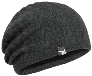 Шапка Salewa GROOCH KN SLOUCH BEANIE carbon
