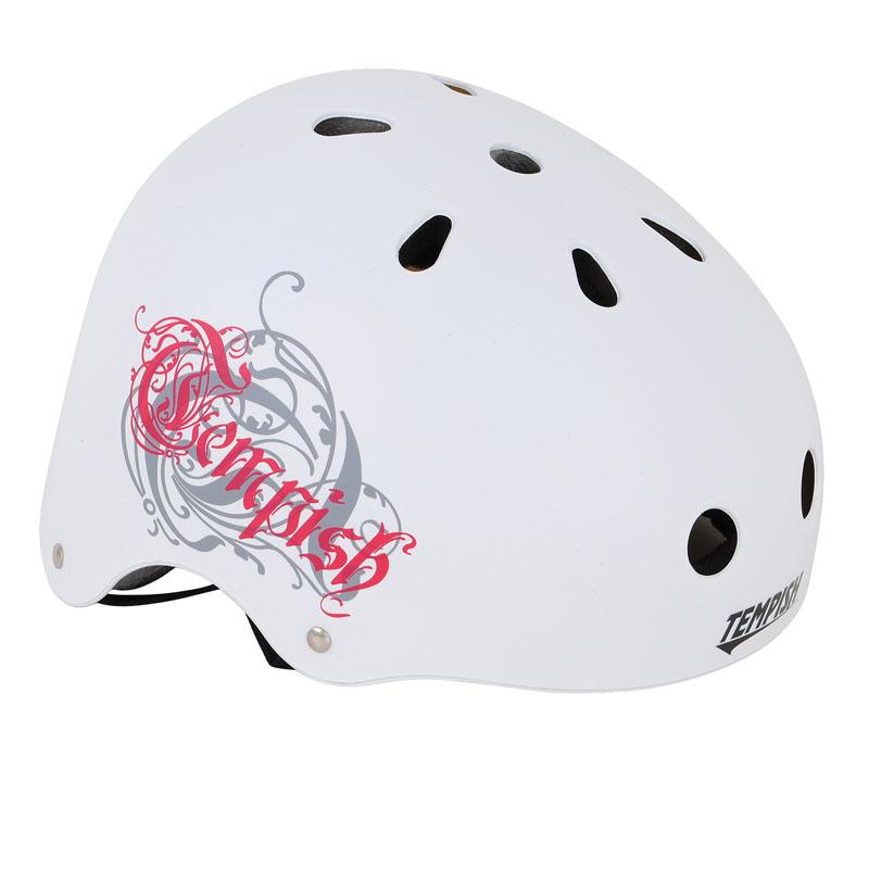 Летний шлем TEMPISH 2016 SKILLET Белый, Шлемы велосипедные, 1179767  - купить со скидкой
