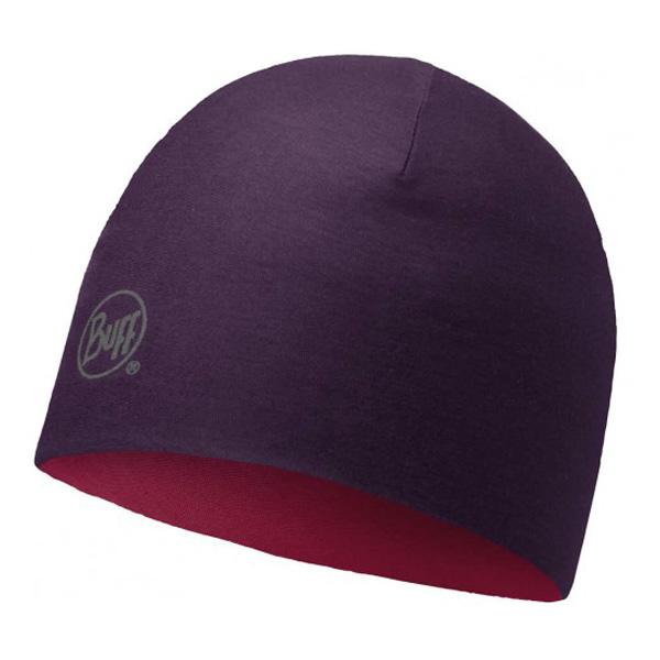 Купить Шапка BUFF WOOL MERINO REVERSIBLE HAT SOLID PLUM Банданы и шарфы Buff ® 1263608