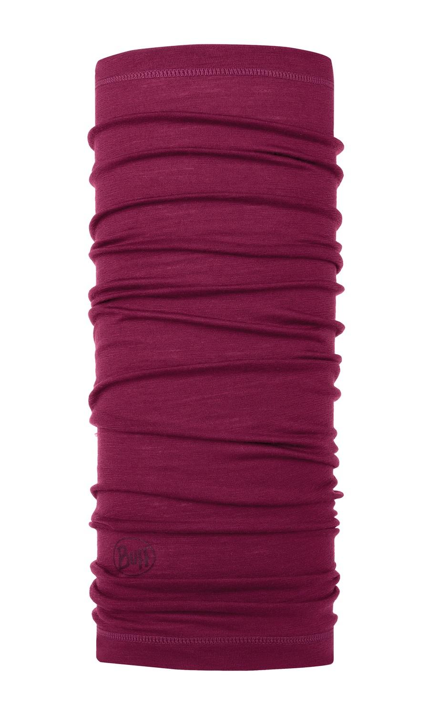 Бандана Buff Lightweight Merino Wool Solid Purple Raspberry