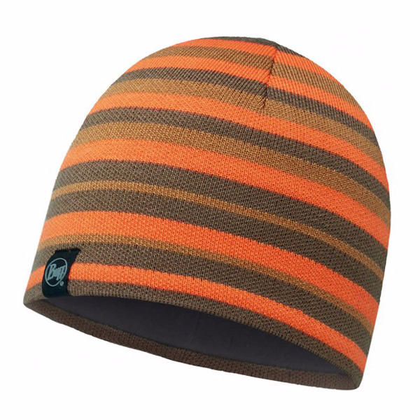 Шапка Buff Knitted & Polar Hat Buff Lakistripes Fossil-Fossil-Standard/od