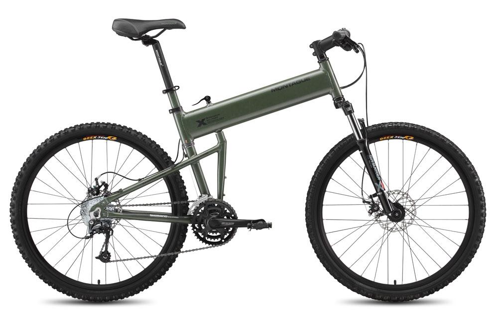 Купить Велосипед Montague Paratrooper 2015 Зеленый, Складные велосипеды, 1321713