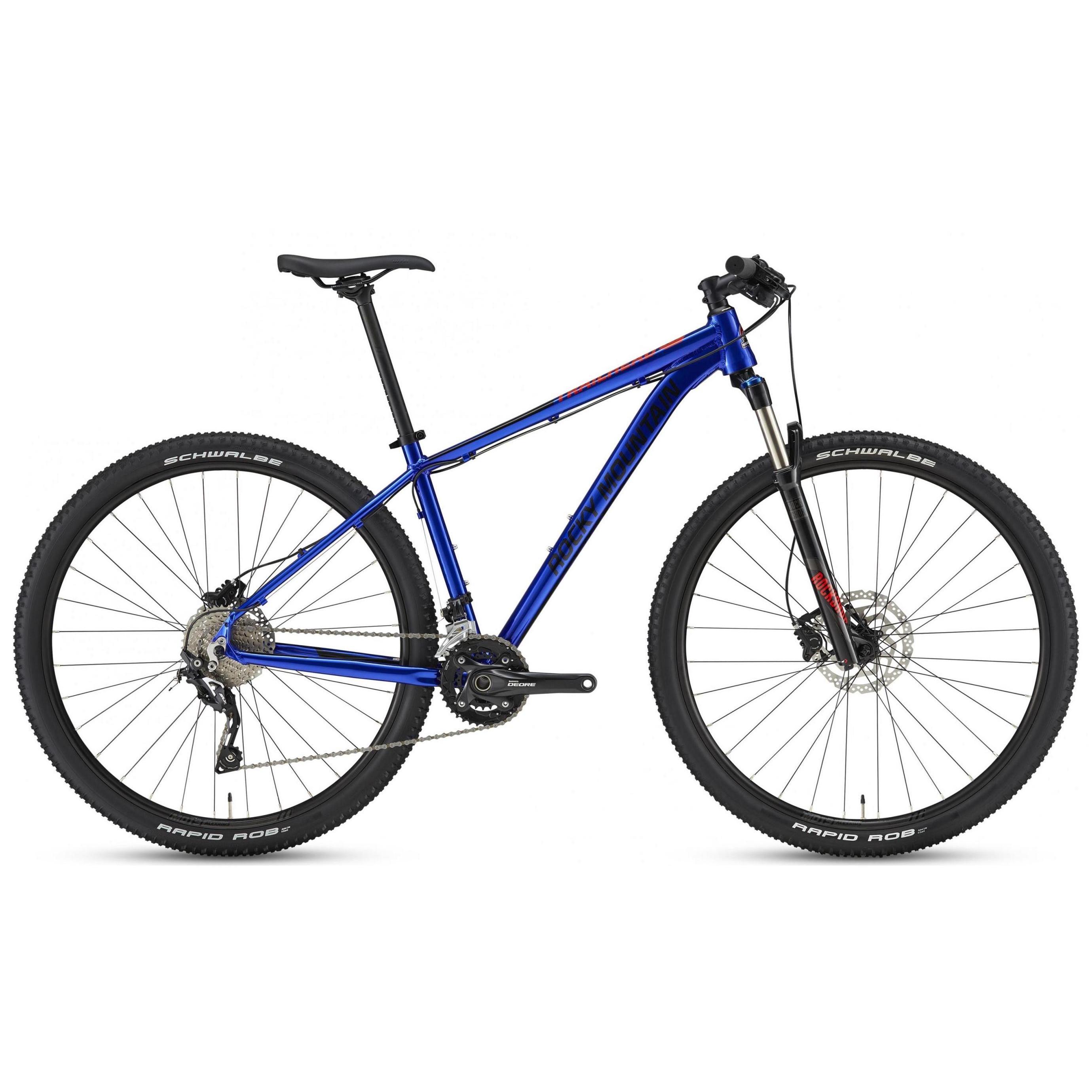 Велосипед Rocky Mountain Trailhead 40 2018 Blue