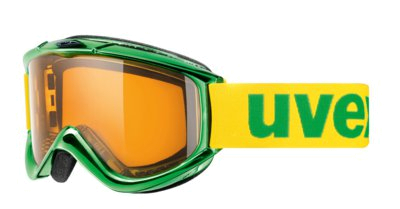 Очки горнолыжные UVEX FX Race chrome Green Chrom