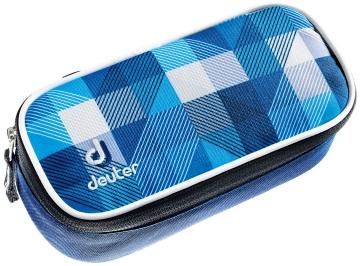 Купить Пенал Deuter 2015 School Pencil Case blue arrowcheck Рюкзаки школьные 1147500