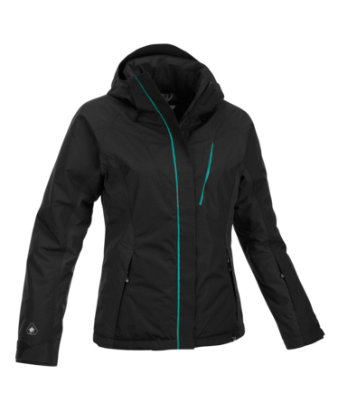 Куртка туристическая Salewa MOUNTAINEERING ALPINDONNA TETON PTX/PF W JKT black/8440