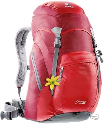 Купить Рюкзак Deuter 2015 Aircomfort Classic Groden 30 SL fire-cranberry Рюкзаки туристические 1073024