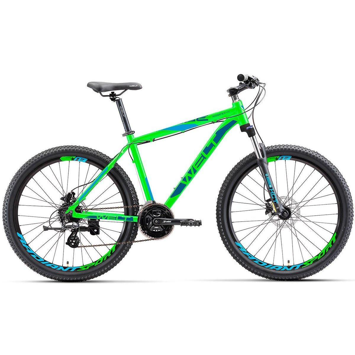 Велосипед Welt 2018 Ridge 2.0 Hd Matt Acid Green/blue