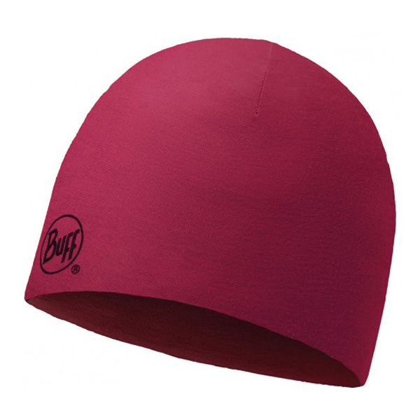 Купить Шапка BUFF WOOL MERINO REVERSIBLE HAT SOLID GRANA Банданы и шарфы Buff ® 1263612