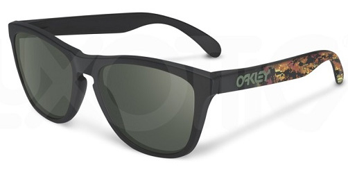 Очки солнцезащитные Oakley Frogskins Matt Black w/ Dark Grey