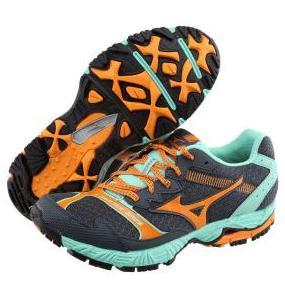Купить Беговые кроссовки для XC Mizuno 2014 Wave Ascend 8 фиол/сереб/желт, Кроссовки бега, 1136367