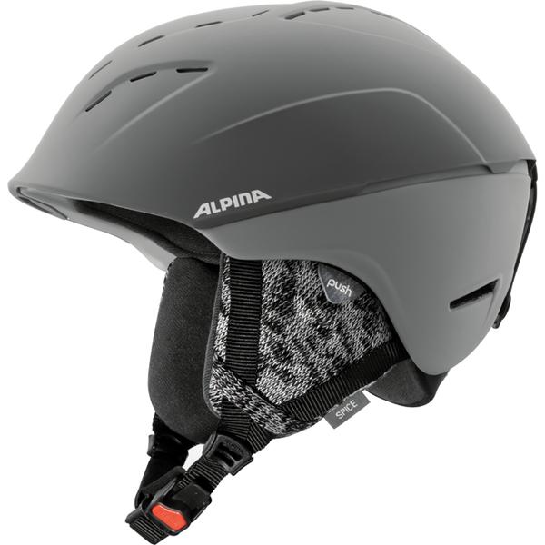 Купить Зимний Шлем Alpina SPICE grey matt, Шлемы для горных лыж/сноубордов, 1314517