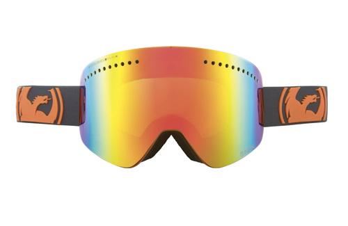 Купить Очки горнолыжные DRAGON NFX POP Orange (Red Ionized) 910509