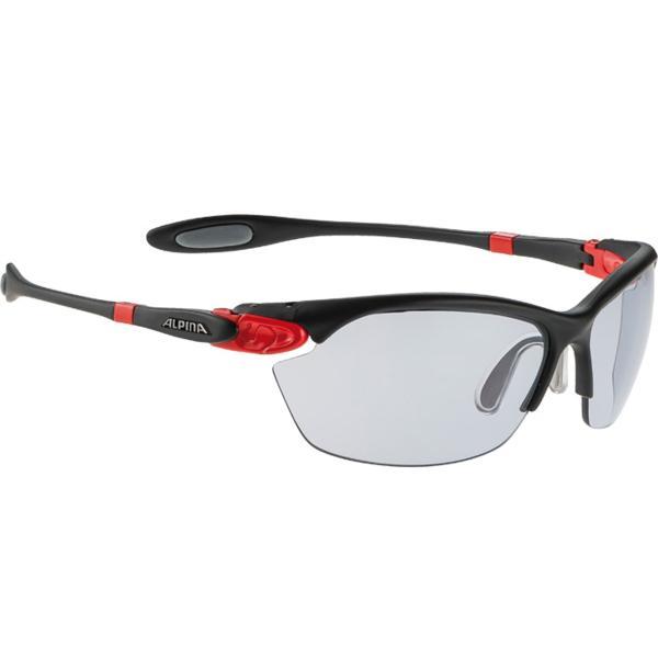 Купить Очки солнцезащитные Alpina TWIST THREE 2.0 VL black matt-red, солнцезащитные, 1131734
