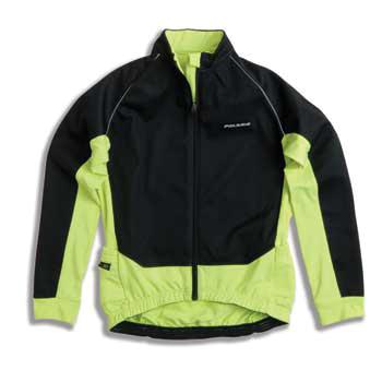 Купить Велокуртка Polaris KIDS VORTEX II Black/Fluo Yellow черный/кислотно желтый Детская одежда 770804