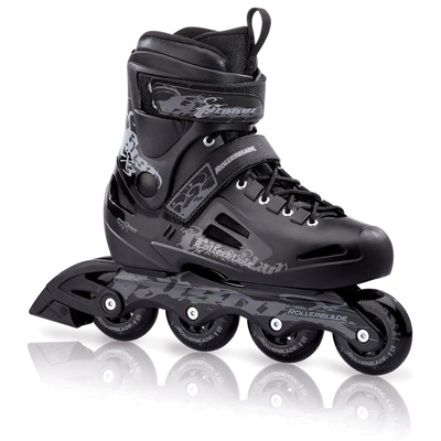 Купить Роликовые коньки Rollerblade 2012 FUSION X3 black/anthracite Ролики взрослые 786673