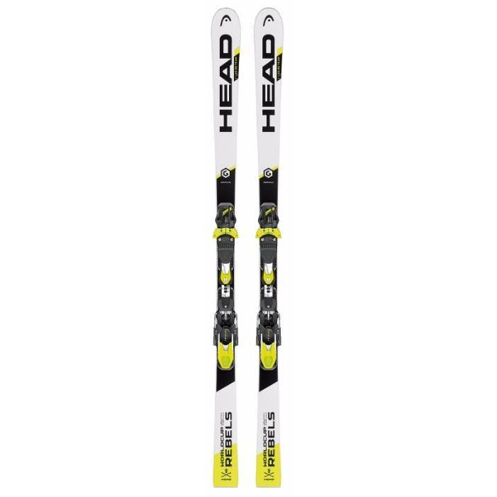 Купить Горные лыжи с креплениями HEAD 2016-17 WC Rebels i.GS RD Team JRP RDX + EVO 9 AC Jr wh, лыжи, 1309989