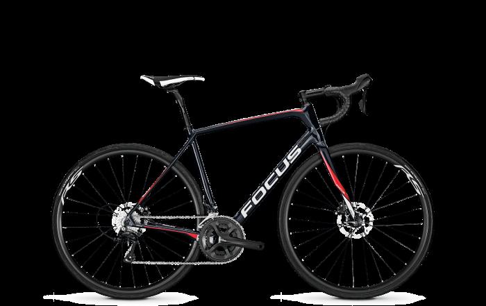 Велосипед Focus Paralane 105 2018 Black/red/white