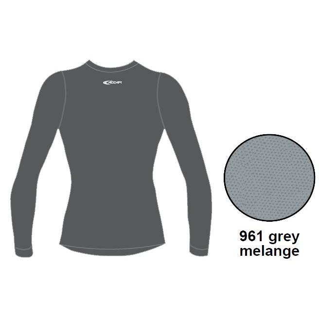 Купить Футболка С Дл. Рукавом, Футболка С Длинным Рукавом Accapi Tecnosoft Plus Long Sl.t-Shirt Man (Grey) Серый, мужской, Термобелье