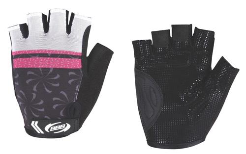 женские перчатки bbb, розовые