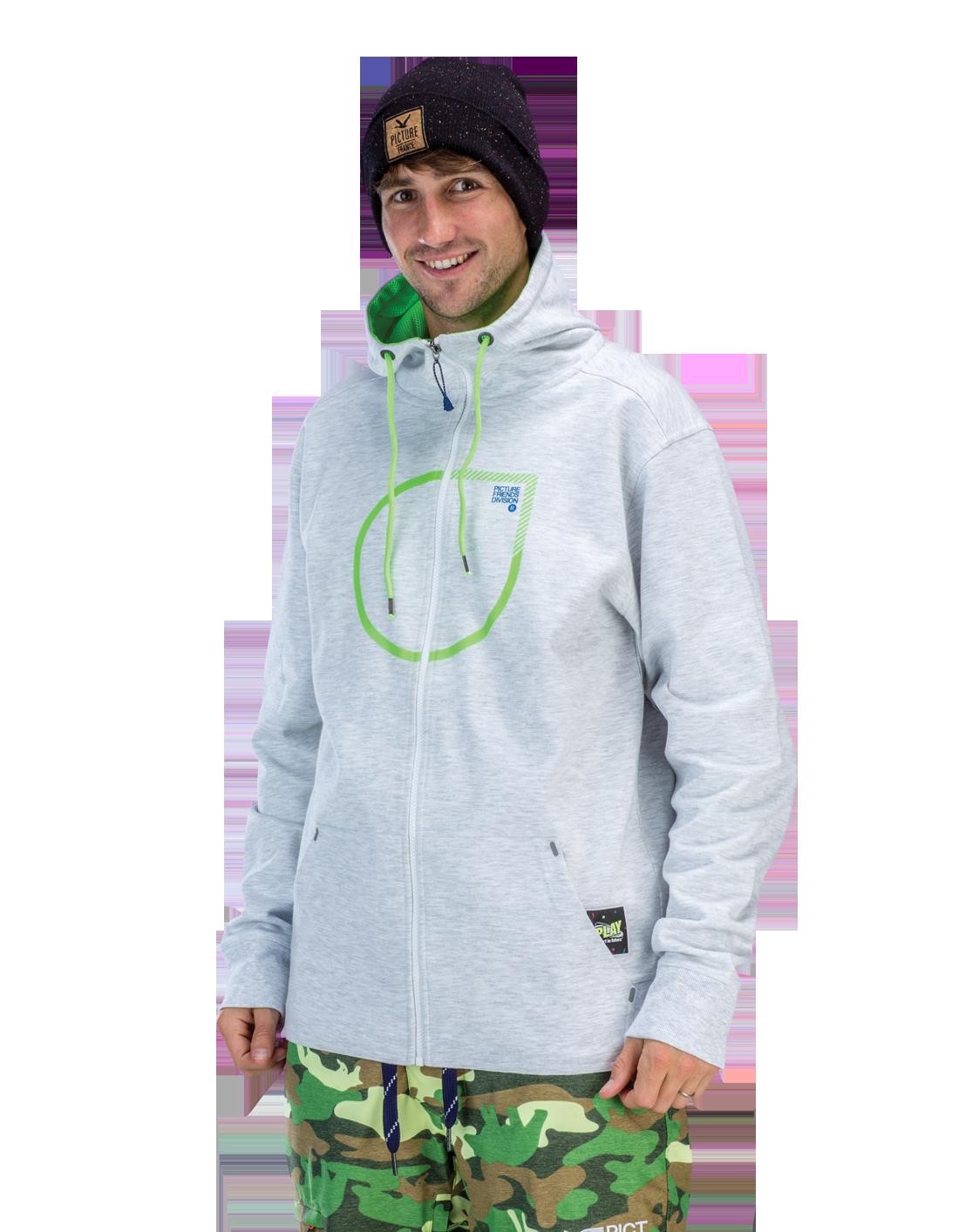 Купить Толстовка сноубордическая Picture Organic 2015-16 BUTTER White Melange Одежда 1219668