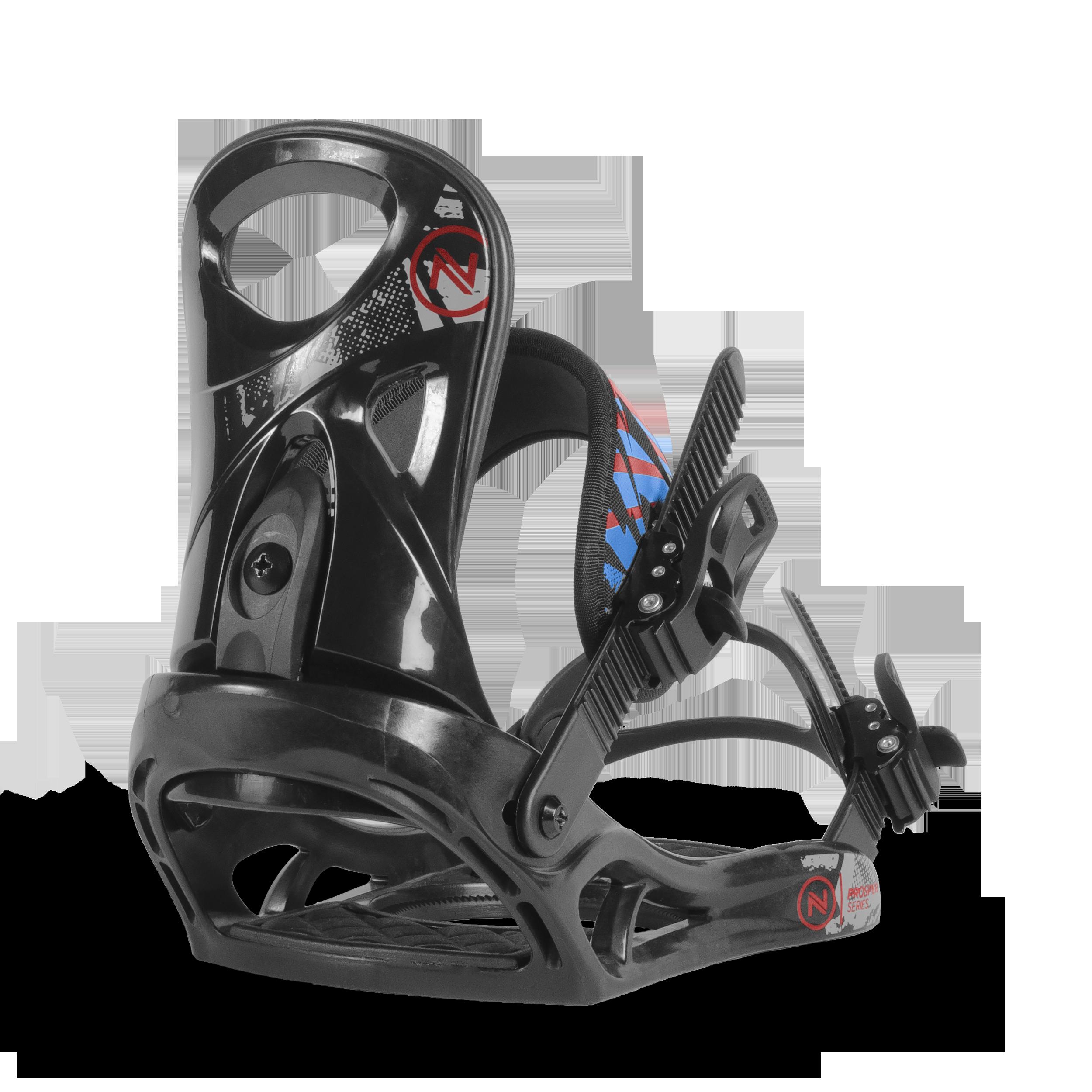 Сноуборд Крепления Nidecker 2017-18 Prosper Series Black