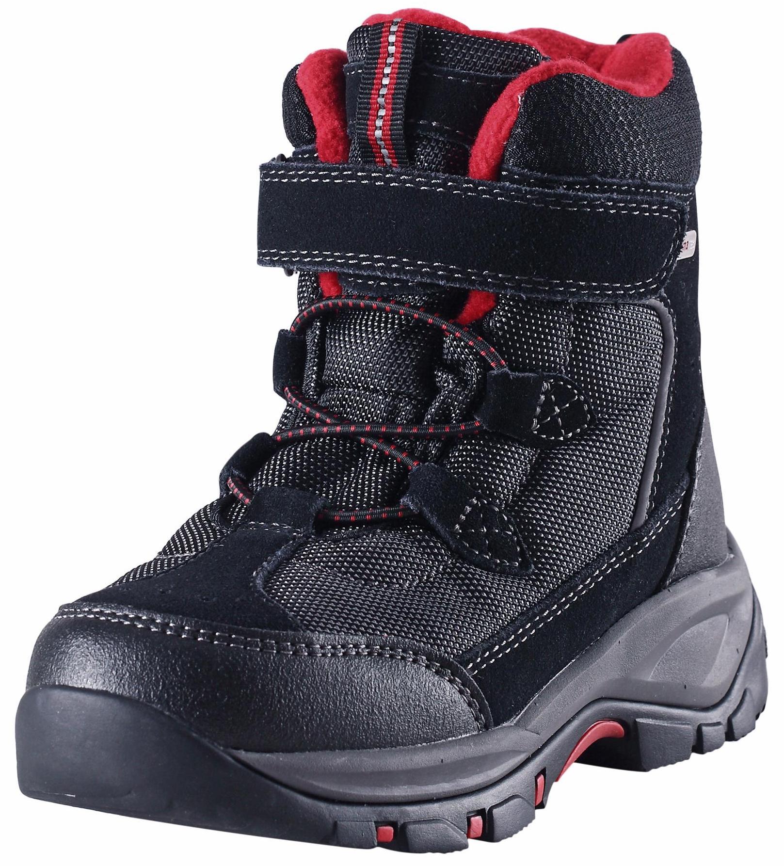 Купить Ботинки городские (высокие) Reima 2016-17 DENNY ЧЕРНЫЙ, Обувь для города, 1273953
