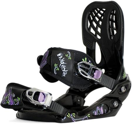 Купить Сноуборд крепления NIDECKER 2010-11 ANGEL black-purple 695316