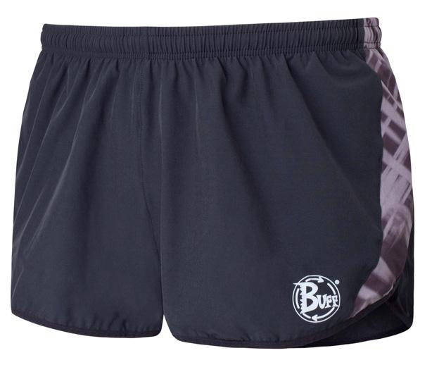 Купить Шорты беговые BUFF RUNNING SHORTS MAVERICK (BLACK) черный Одежда для бега и фитнеса 759138