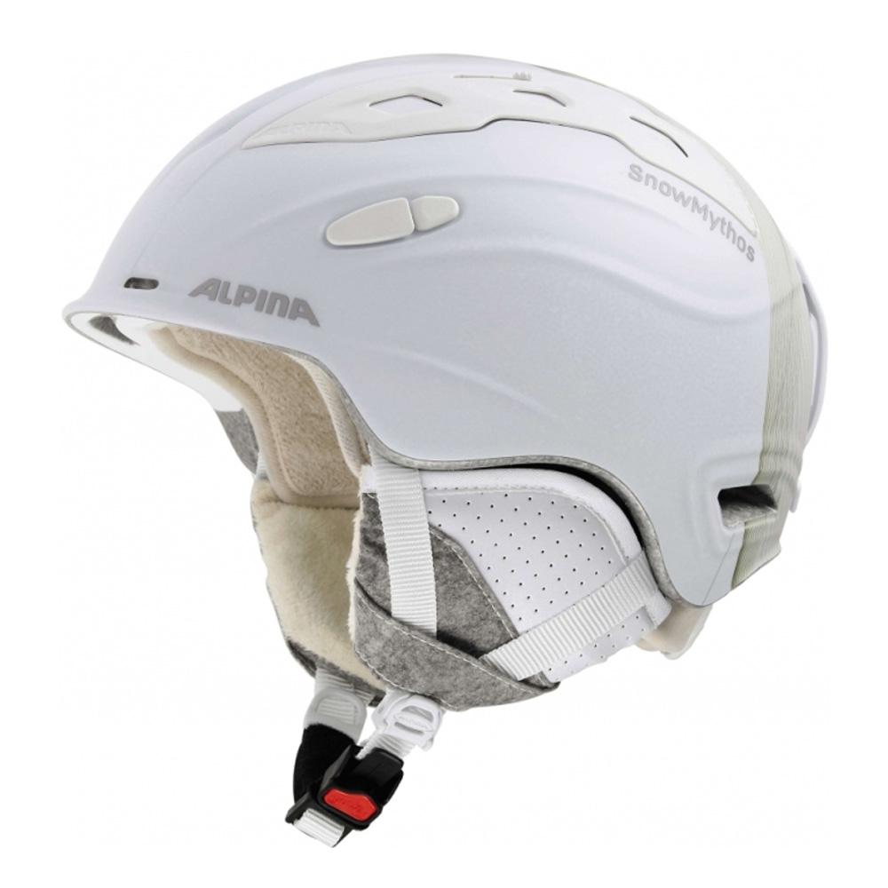 Зимний Шлем Alpina Snow Mythos White-Prosecco Matt
